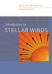 Book cover Stellar winds