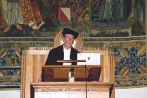 Afscheidscollege in de Aula van Universiteit Utrecht op  4 juni 2006